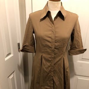 NWT Coldwater Creek Safari Shirt Dress | Sz. 8P